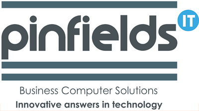 Pinfields IT logo